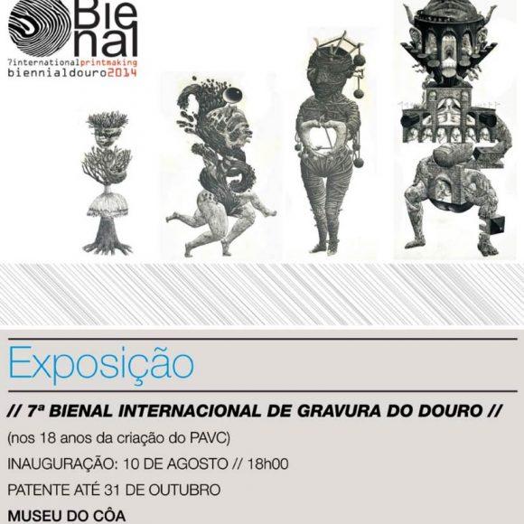 7ª Bienal Internacional de Gravura do Douro 2014