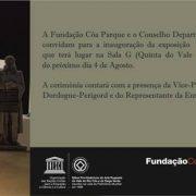 """Inauguração da exposição """"Dordogne-Perigord no Vale do Côa"""""""