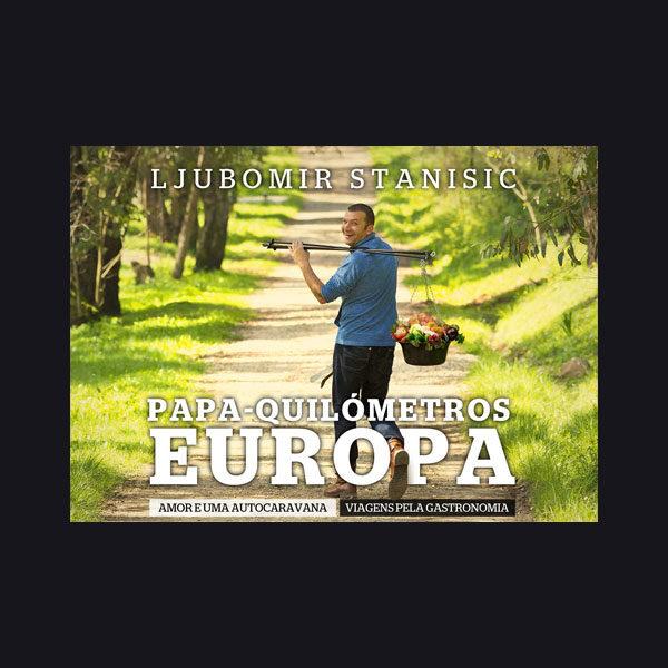 livro Papa-Quilómetros Europa – Amor e uma autocaravana. Viagens pela gastronomia